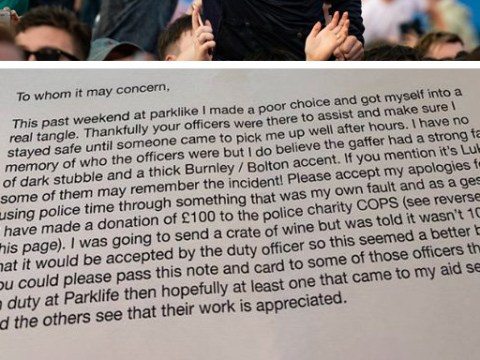 Teenager's grovelling apology and donation to police for bad behaviour at Parklife
