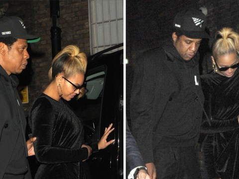 Beyonce and Jay-Z can't get enough of London as they live the high-life in Mayfair on date night