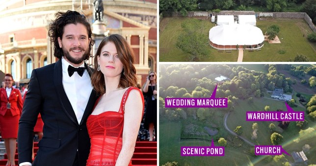 Kit Harington Wedding.Game Of Thrones Wedding Sneak Peek At Kit Harington S Wedding Venue