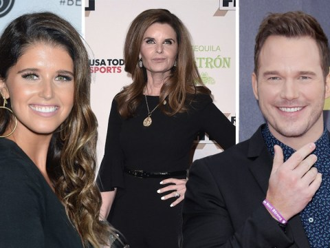 Chris Pratt and Katherine Schwarznegger 'set up' by her mum Maria Shriver