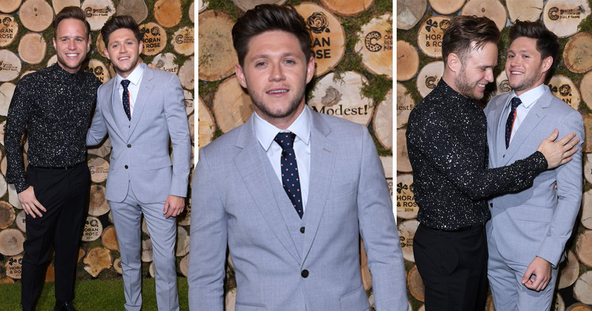 Niall Horan gets charitable with Olly Murs and Jamie Redknapp as he throws swanky bash following Taylor Swift duet