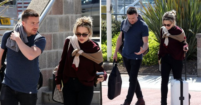 Kit Harington Wedding.Emilia Clarke Heads To Airport After Game Of Thrones Kit