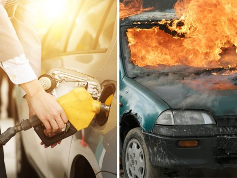 Could your petrol tank explode if you fill it to the limit when it's hot outside?