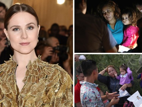 Westworld's Evan Rachel Wood to go on 24-day hunger strike over Trump's immigration policy