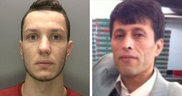 Pizza shop worker gets life sentence for stabbing new boss to death on his first day