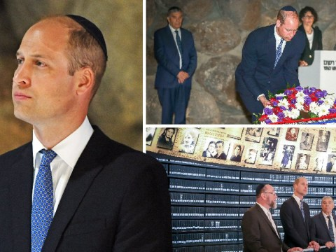 Prince William says Holocaust must not be forgotten on historic tour of Israel