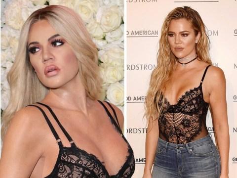 Khloe Kardashian's new waxwork looks exactly like her as it reps Christian Louboutin heels and designer lingerie