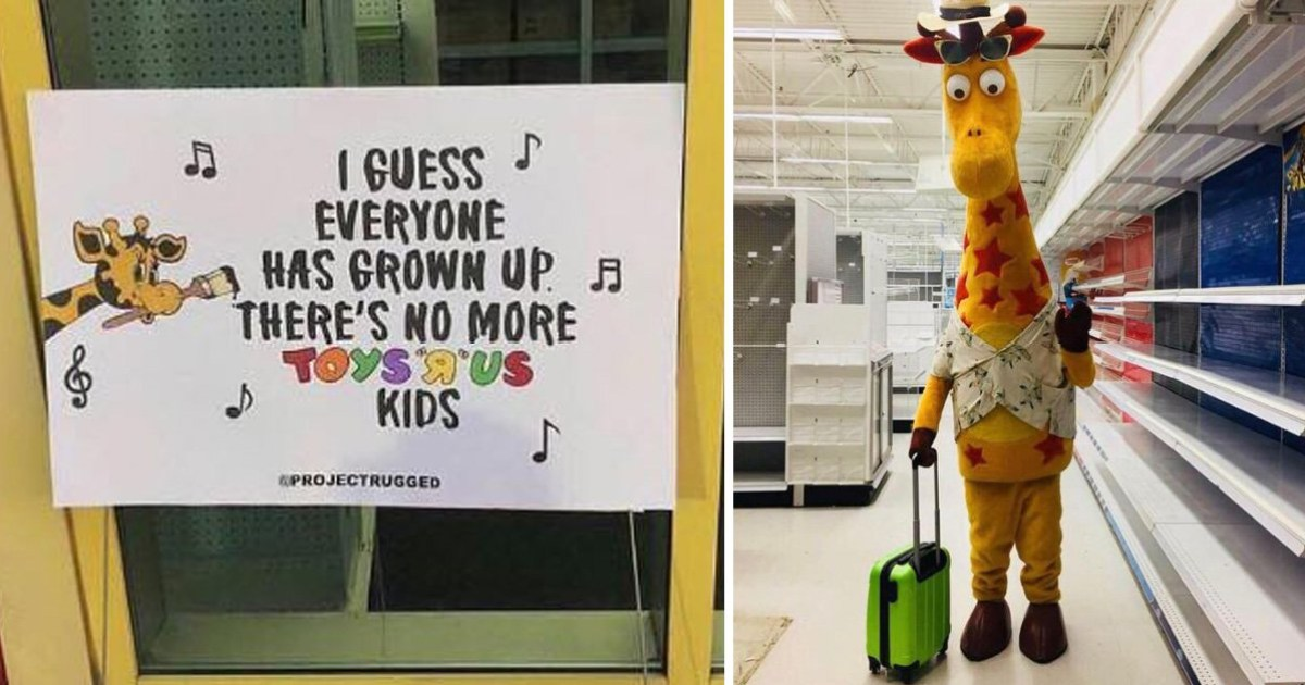 Toys R Us Giraffe Leaving Store For The Last Time Is Incredibly Depressing Metro News