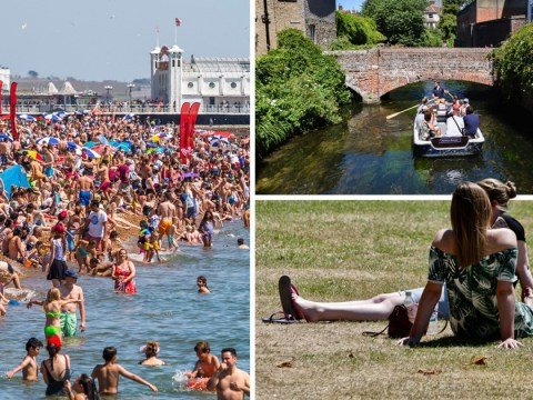 Heatwave continues today but beware for some thunderstorms tomorrow