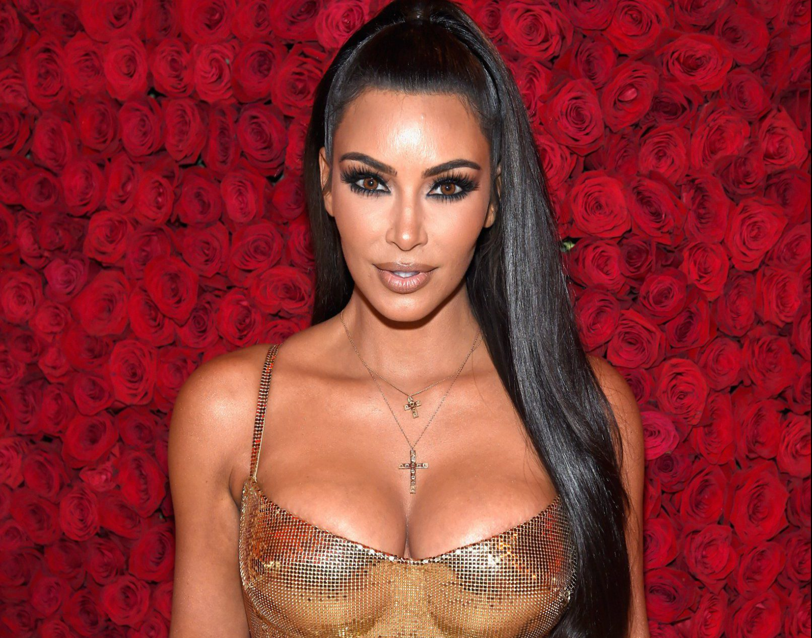NEW YORK, NY - MAY 07: Kim Kardashian West attends the Heavenly Bodies: Fashion & The Catholic Imagination Costume Institute Gala at The Metropolitan Museum of Art on May 7, 2018 in New York City. (Photo by Kevin Mazur/MG18/Getty Images for The Met Museum/Vogue)