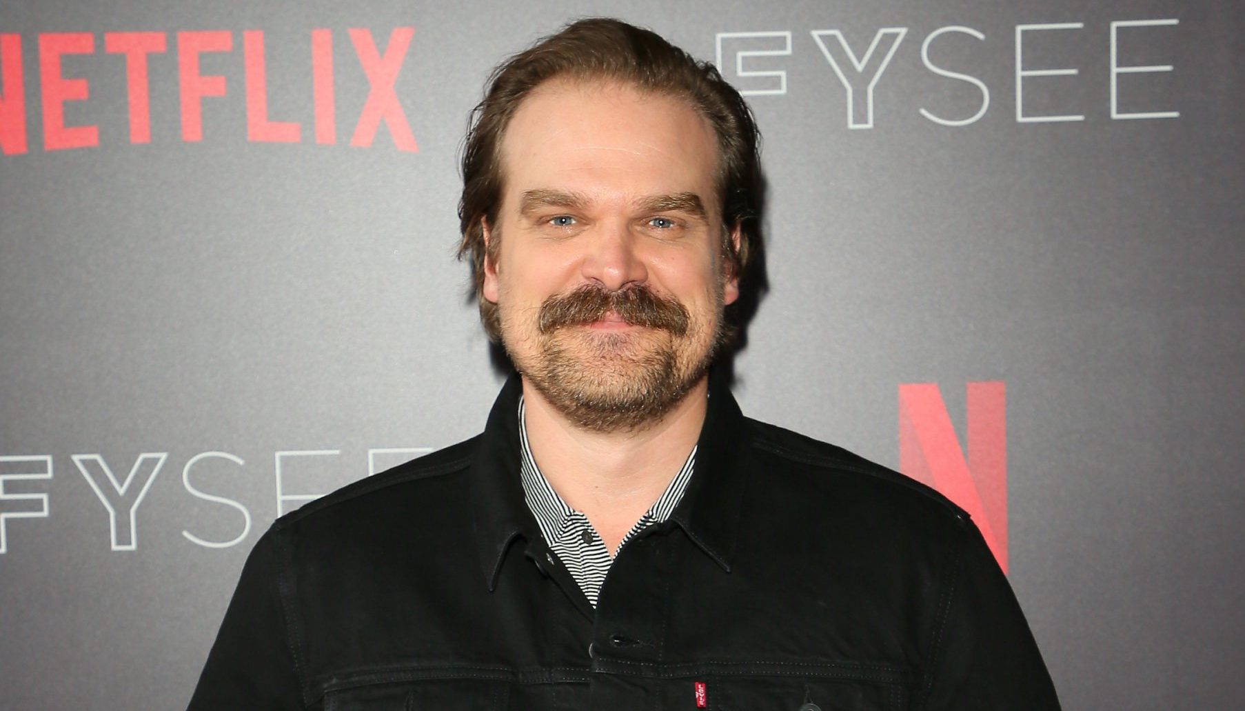 BEVERLY HILLS, CA - MAY 10: David Harbour attends the Netflix #FYSee 'Scene Stealers' on May 10, 2018 in Hollywood, California. (Photo by JB Lacroix/WireImage)