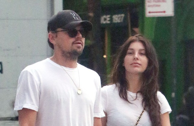Mandatory Credit: Photo by John Sheene/ACE Pictures/REX/Shutterstock (9672708d) Leonardo DiCaprio and Camila Morrone Leonardo DiCaprio and Camila Morrone out and about, New York, USA - 15 May 2018