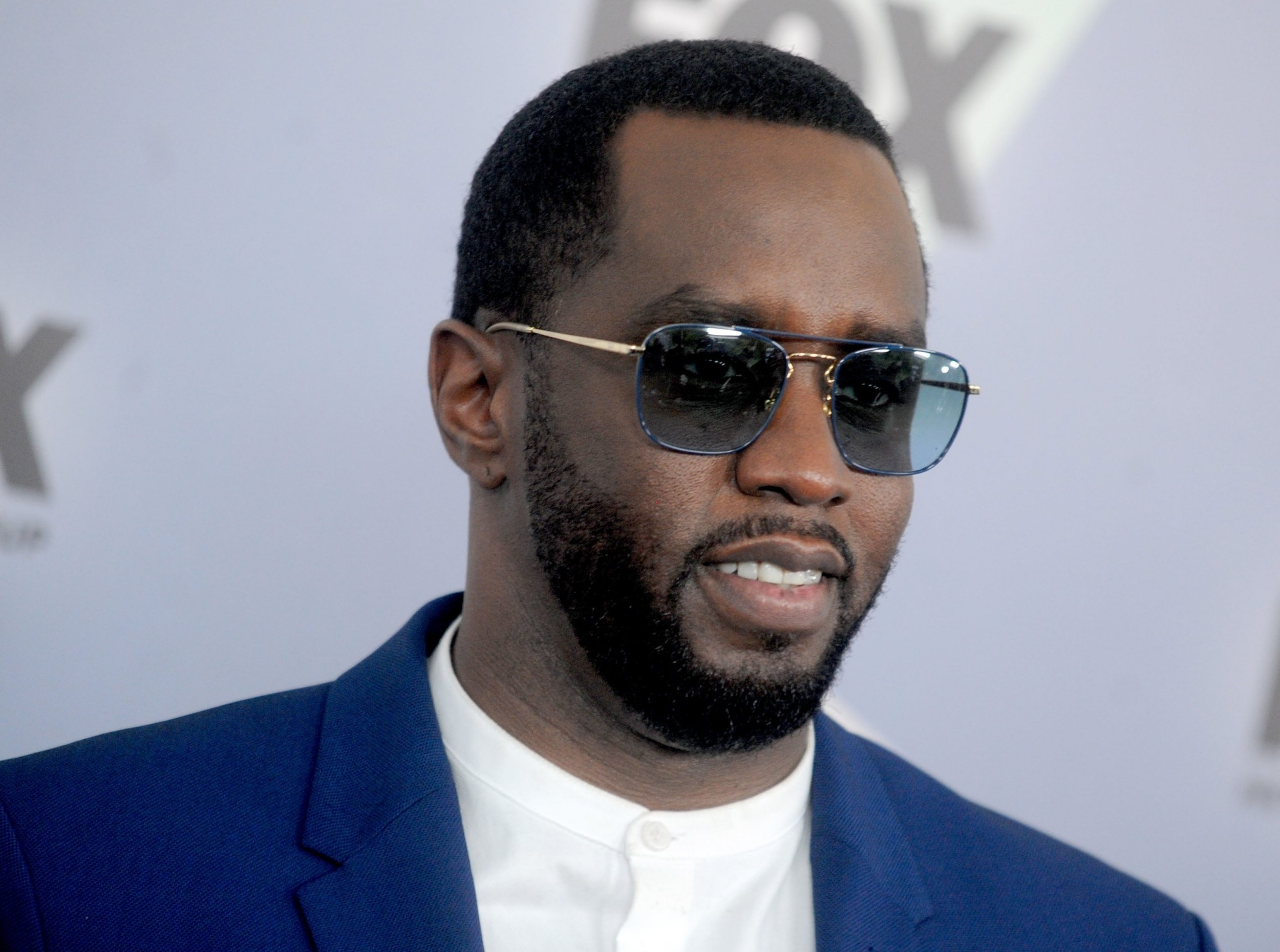 BGUK_1236448 - New York City, New - Celebrities attend the 2018 Fox Network Upfront at the Wollman Rink in New York City. Pictured: Sean 'Diddy' Combs BACKGRID UK 14 MAY 2018 UK: +44 208 344 2007 / uksales@backgrid.com USA: +1 310 798 9111 / usasales@backgrid.com *UK Clients - Pictures Containing Children Please Pixelate Face Prior To Publication*