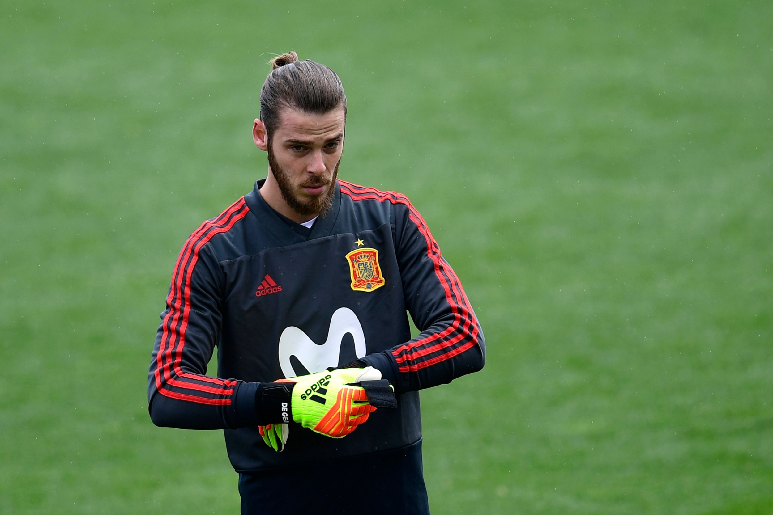 David De Gea sends message to Real Madrid: I'm happy at Manchester United