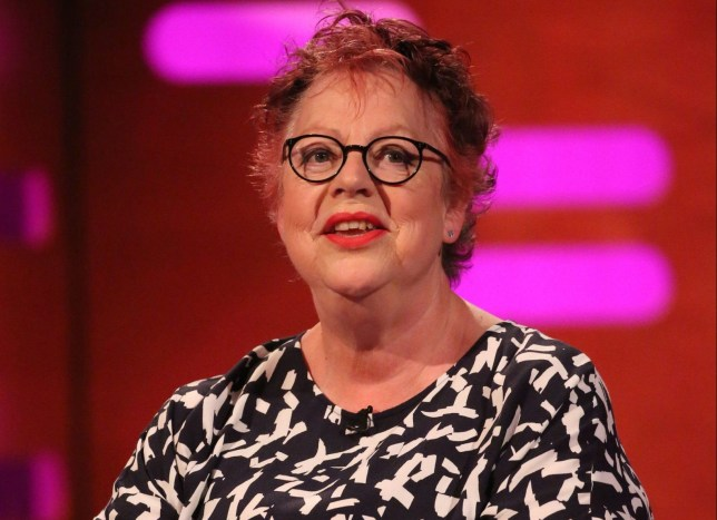 Jo Brand during the filming of the Graham Norton Show at BBC Studioworks 6 Television Centre, Wood Lane, London, to be aired on BBC One on Friday evening. PRESS ASSOCIATION Photo. Picture date: Thursday May 31, 2018. Photo credit should read: PA Images on behalf of So TV