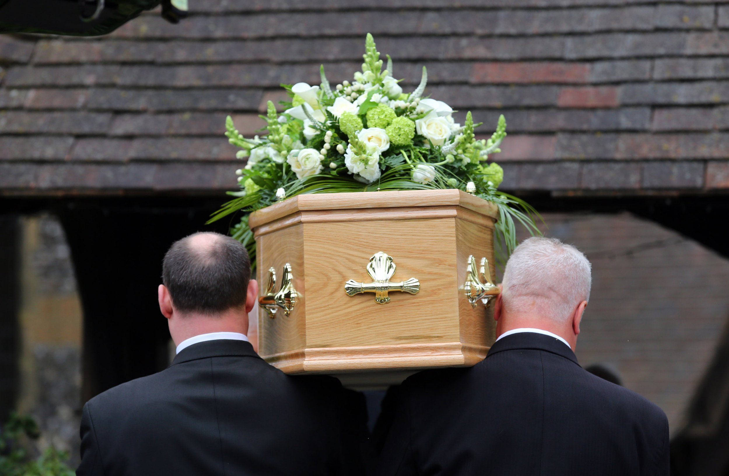 """Undated file photo of a funeral taking place. A crackdown on """"rip-off"""" pre-paid funeral plan providers who prey on the vulnerable has been signalled by the Government. PRESS ASSOCIATION Photo. Issue date: Friday June 1, 2018. The Treasury is proposing bringing the sector under the regulation of the Financial Conduct Authority (FCA) after evidence showed elderly people are being ?pressured, harassed and misled? by some operators. See PA story POLITICS Funerals. Photo credit should read: PA Wire"""