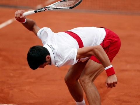 Novak Djokovic shows fire of old as he decimates racquet