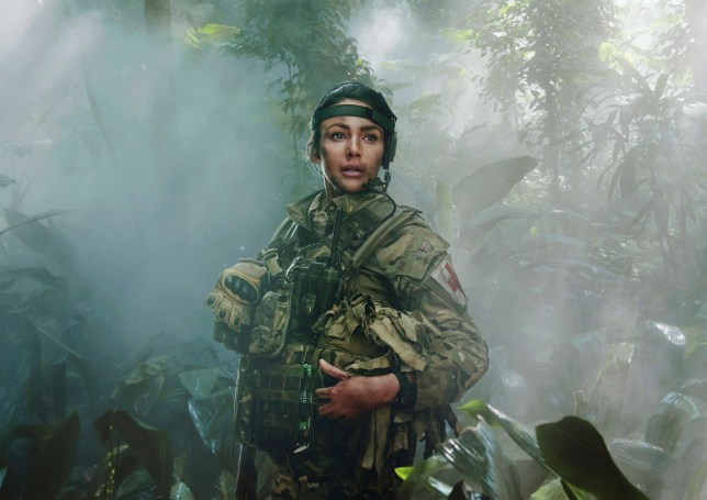 WARNING: Embargoed for publication until 00:00:01 on 29/05/2018 - Programme Name: Our Girl - TX: n/a - Episode: n/a (No. 5) - Picture Shows: Press iconic Georgie Lane (MICHELLE KEEGAN) - (C) BBC/iStock - Photographer: Frans Marais