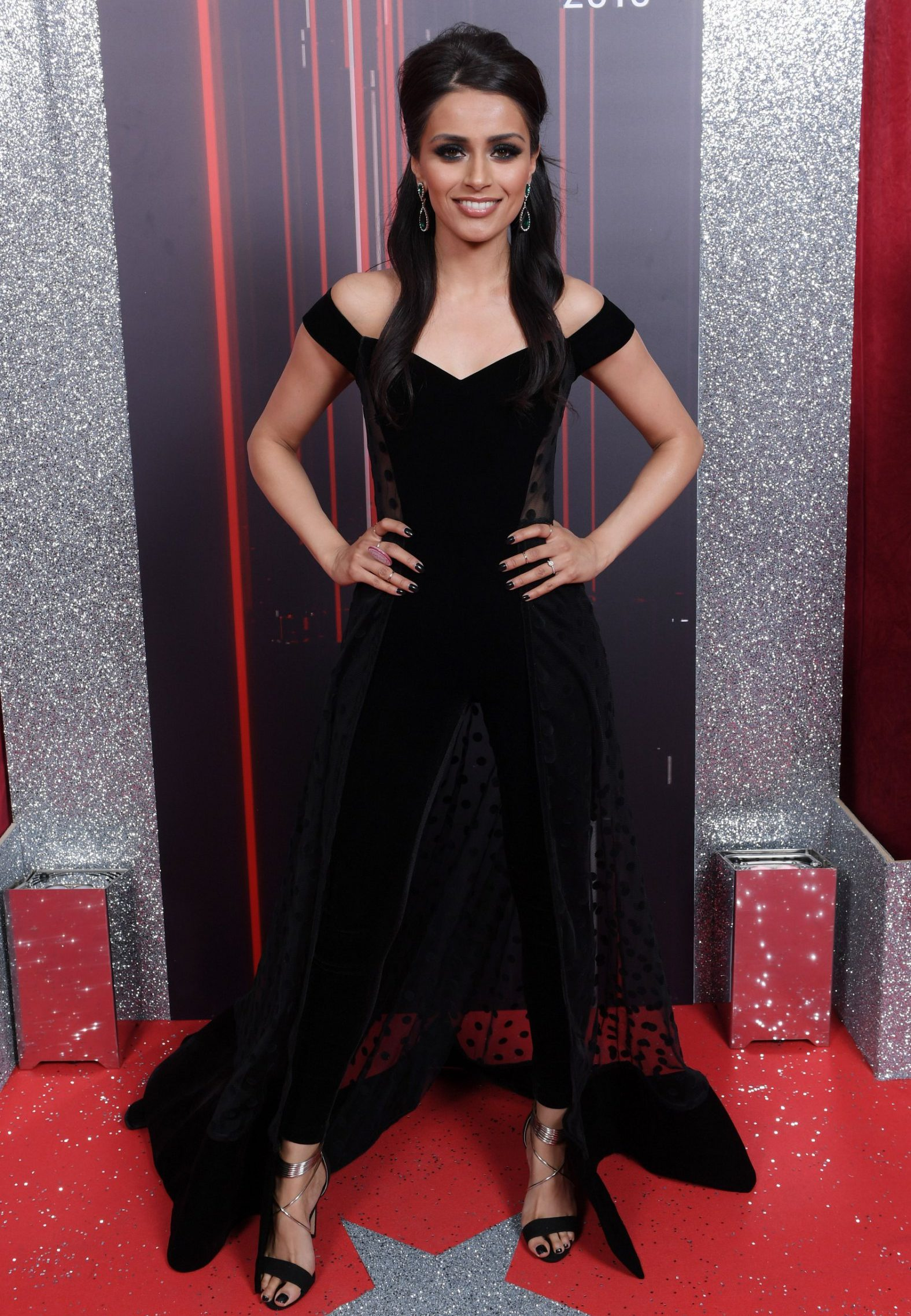 Mandatory Credit: Photo by David Fisher/REX/Shutterstock (9698543fw) Bhavna Limbachia British Soap Awards, Arrivals, Hackney Empire, London, UK - 02 Jun 2018