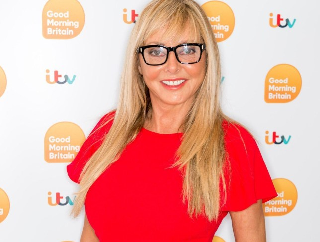 EDITORIAL USE ONLY. NO MERCHANDISING Mandatory Credit: Photo by Ken McKay/ITV/REX/Shutterstock (9700093ad) Carol Vorderman 'Good Morning Britain' TV show, London, UK - 04 Jun 2018