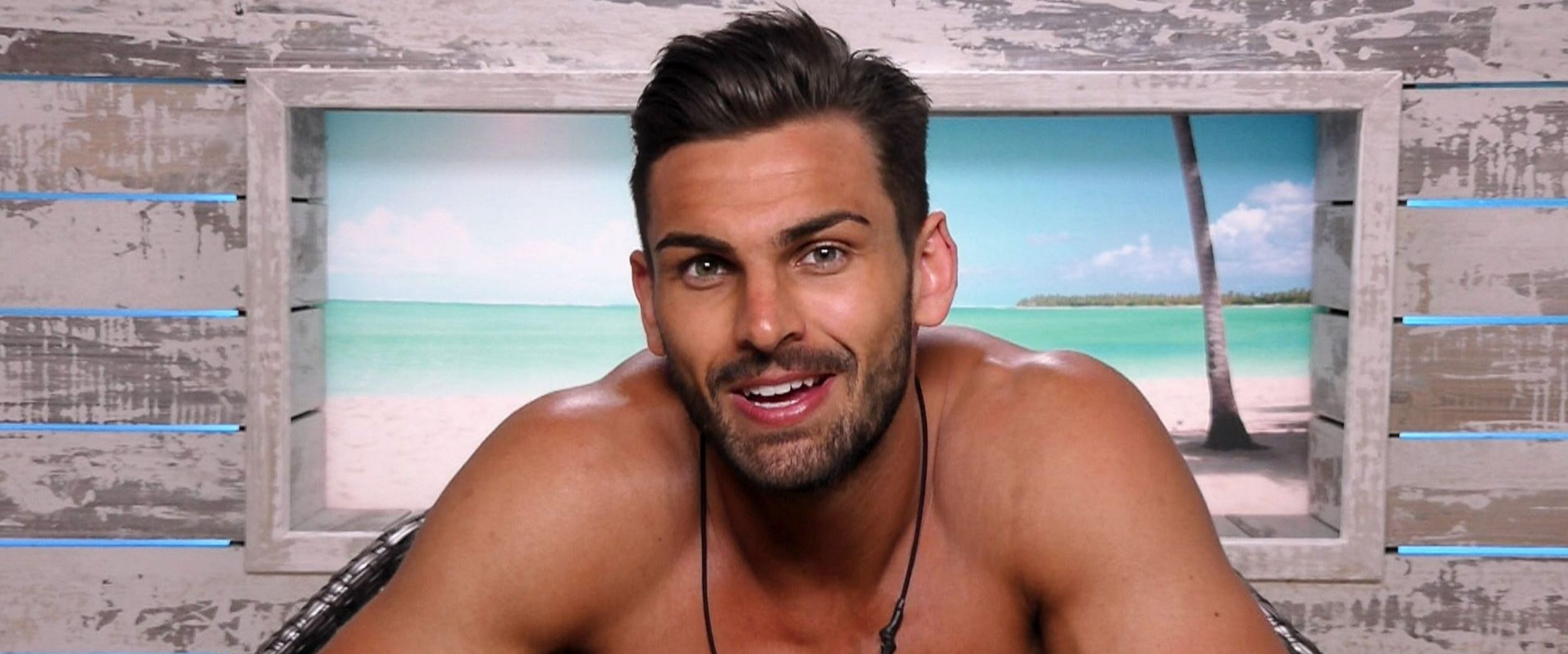 Editorial Use Only. No Merchandising. Mandatory Credit: Photo by ITV/REX/Shutterstock (9700084ae) Adam Collard 'Love Island' TV Show, Series 4, Episode 1, Majorca, Spain - 04 Jun 2018