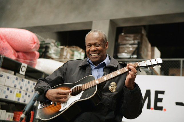 """THE OFFICE -- """"Crime Aid"""" Episode 4 -- Pictured: Hugh Dane as Hank (Photo by Mitch Haddad/NBC/NBCU Photo Bank via Getty Images)"""