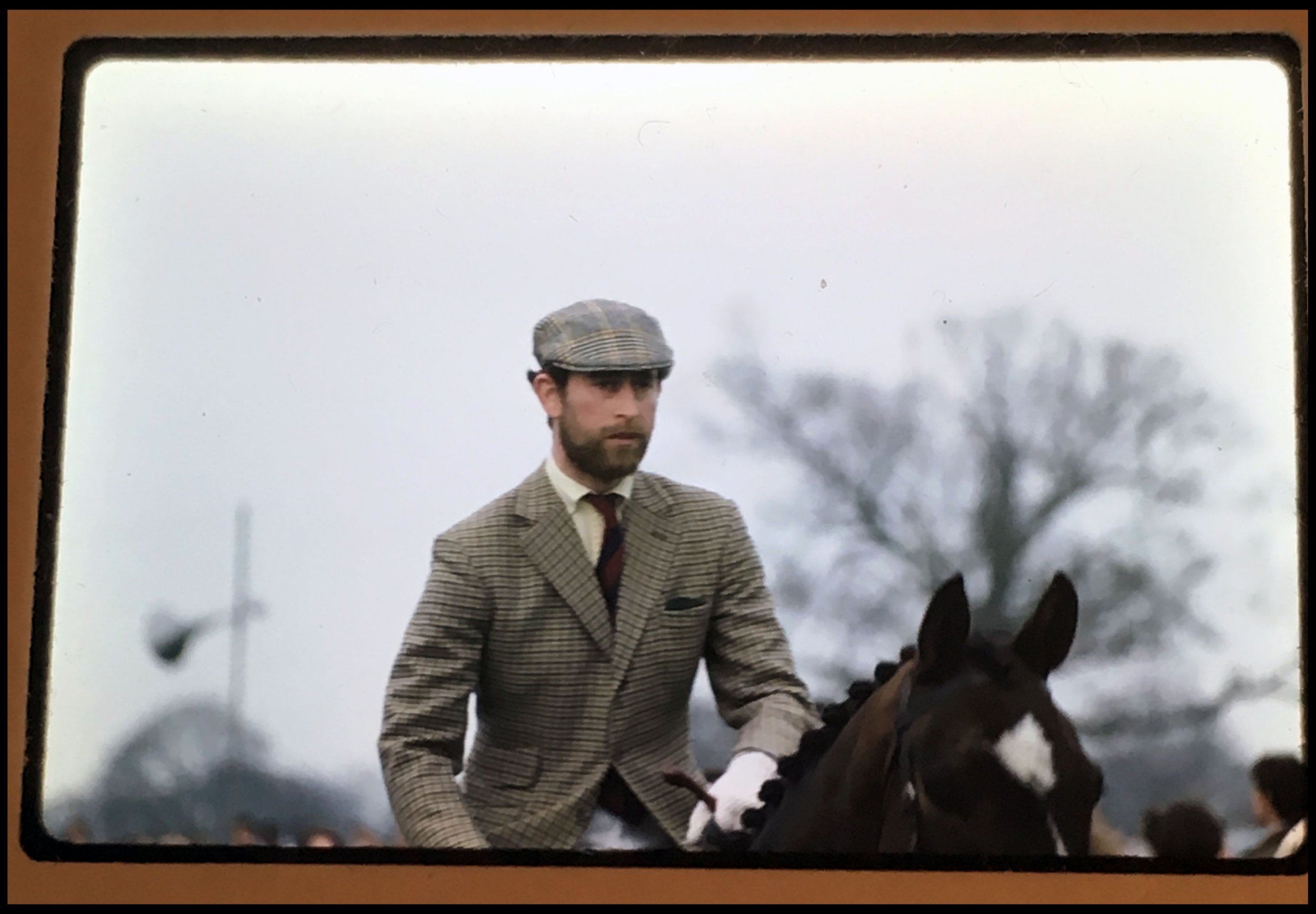 BNPS.co.uk (01202 558833) Pic: JohnScott/JudyAppelbee/BNPS A bearded Prince Charles at another horse event. A remarkable archive of over 4,000 photos of the Royals taken over four decades by a trusted photographer has emerged for sale for ?10,000. The photos include iconic snaps of Prince Charles and Princess Diana on honeymoon as well as intimate shots of the Queen and other prominent Royals relaxing away from the public gaze. The fascinating images were taken by Royal photographer John Scott (Col Vassa Voynovich) who was given unprecedented access to the Royal family from the 1950s to the 1980s, following them around the world on formal engagements. Among the incredible unseen slides and candid photos that capture the royals at work and play are images of Charles dancing with scantily clad women at a carnival in Brazil and meeting the cast of MASH and the Queen in a relaxed group with Lord Louis Mountbatten at a horse show. The archive is being sold by Scott's assistant Judy Appelbee, who he left the collection to when he died in the 1980s, through Penzance-based auctioneers David Lay.