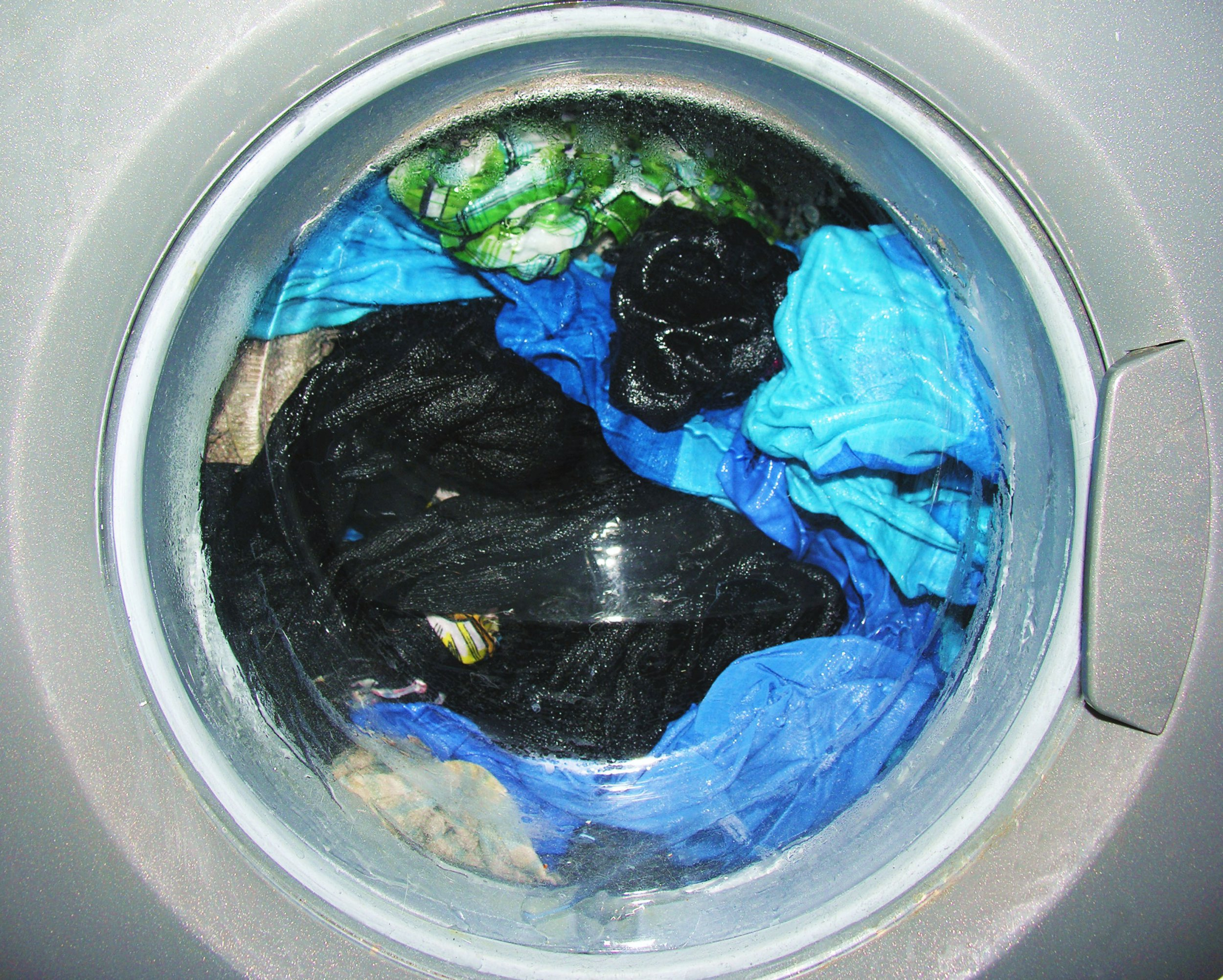 Tiny pieces of plastic are released every time you wash your clothes
