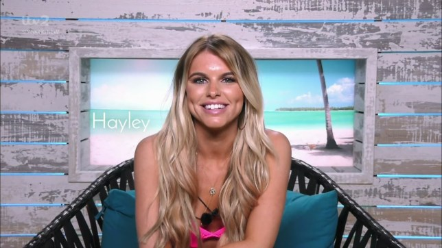 Eyal Booker helps Hayley pronounce his name on 'Love Island'. Broadcast on ITV2 Featuring: Hayley Hughes When: 04 Jun 2018 Credit: Supplied by WENN **WENN does not claim any ownership including but not limited to Copyright, License in attached material. Fees charged by WENN are for WENN's services only, do not, nor are they intended to, convey to the user any ownership of Copyright, License in material. By publishing this material you expressly agree to indemnify, to hold WENN, its directors, shareholders, employees harmless from any loss, claims, damages, demands, expenses (including legal fees), any causes of action, allegation against WENN arising out of, connected in any way with publication of the material.**