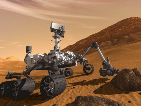 Nasa finds 'building blocks of life' buried in ancient dried lake on Mars