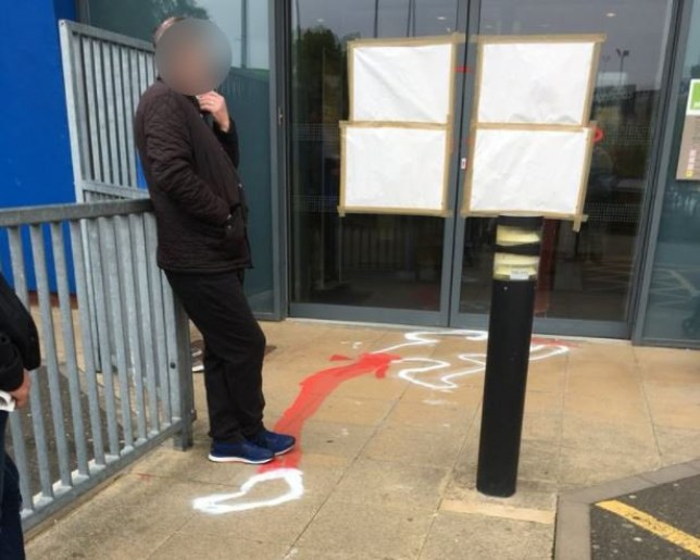 'Crime scene'-style body outlines appear at string of Jobcentres Antony Clewer ??? @BrummyBaggieAC Jun 5 Very interesting at Job Centre this Morning ????????????????????????#murderbypaint #birmingham #jobcentre #SellyOak ??? at Jobcentre Plus