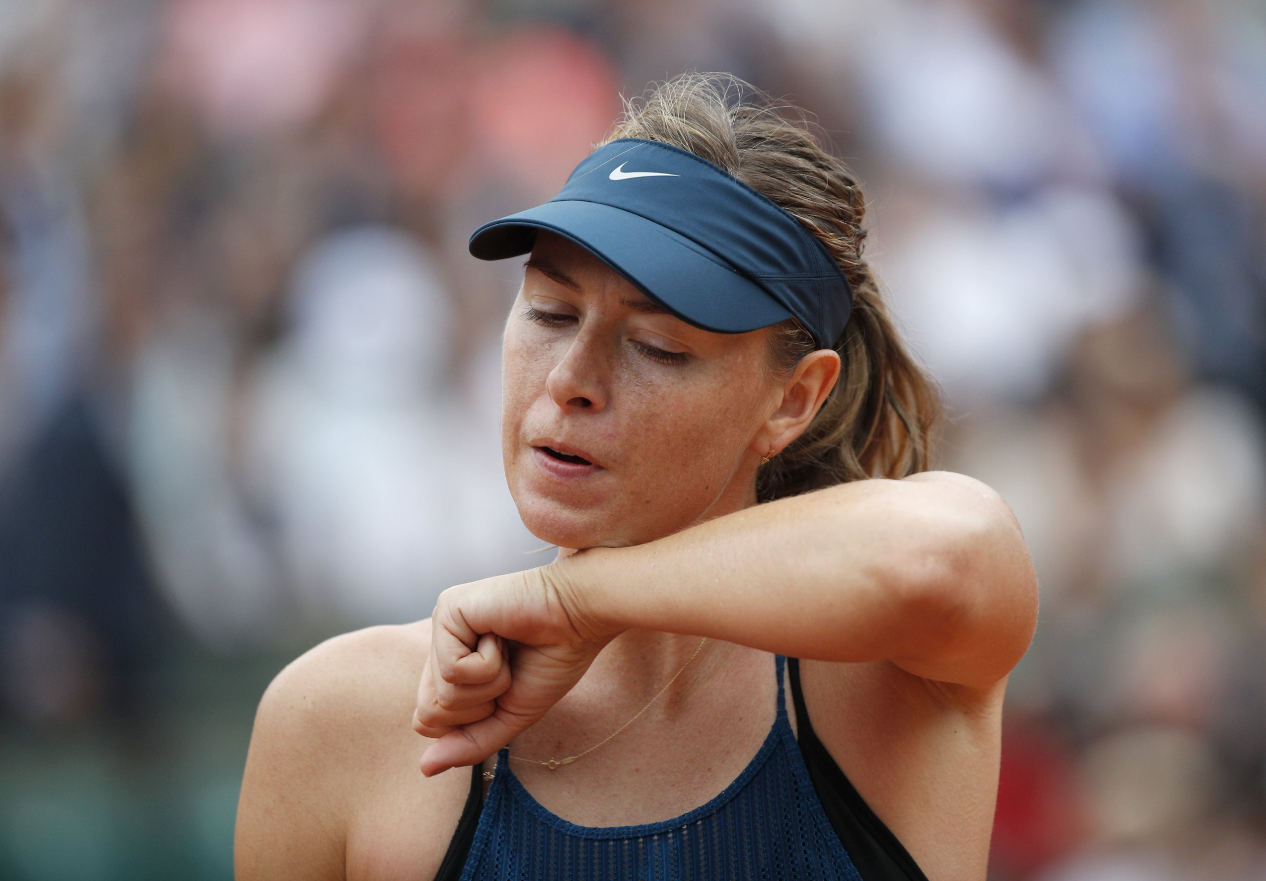 Maria Sharapova hits back at Serena Williams after French Open exit
