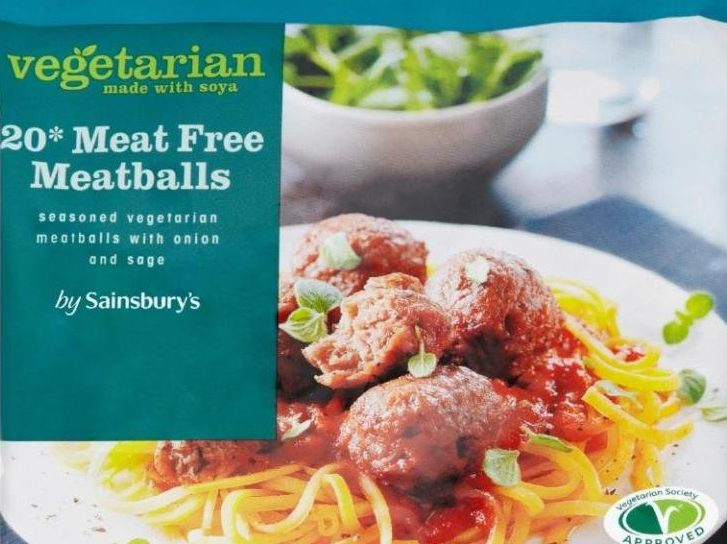 Meat found in vegetarian supermarket meals Sainsbury's