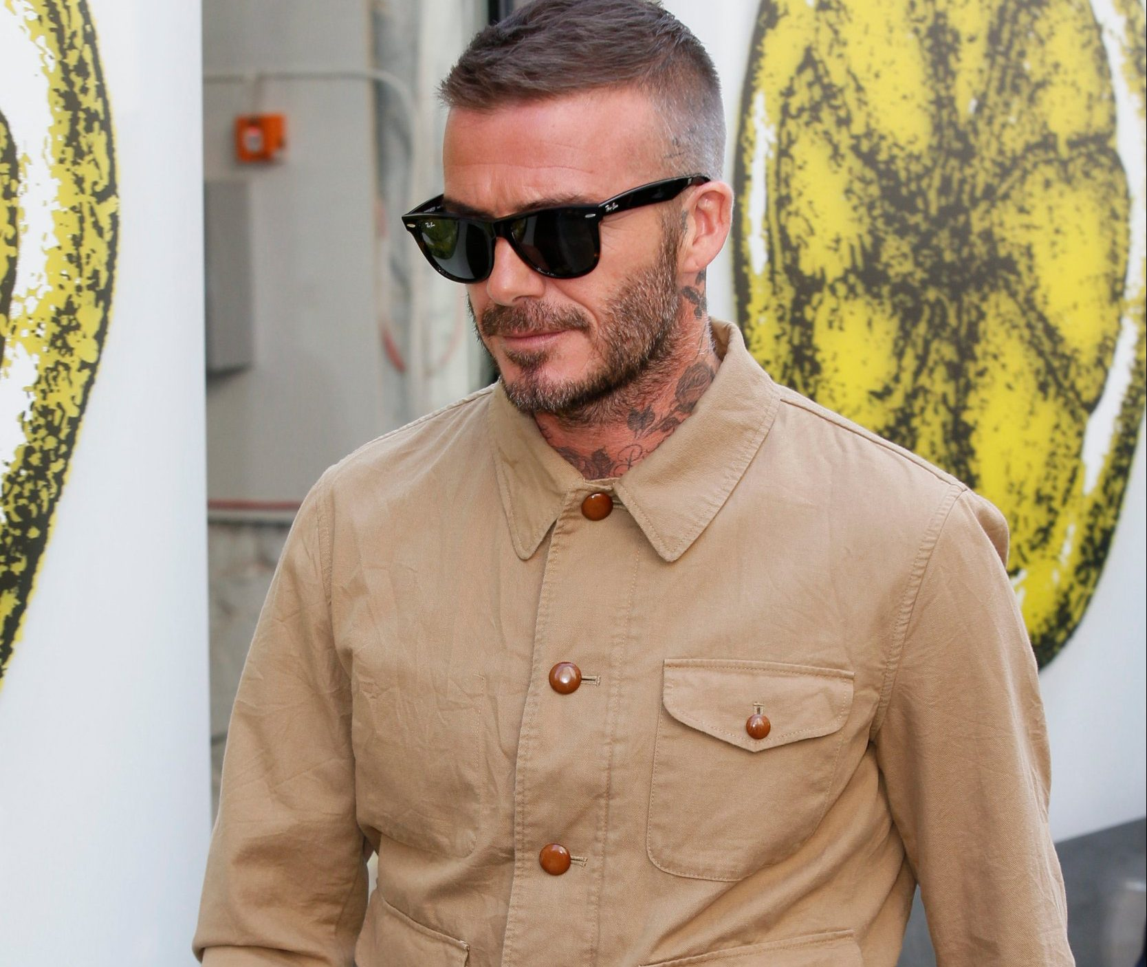 LFW Men's s/s 2019: Kent and Curwen - Catwalk and Front Row Featuring: David Beckham Where: London, United Kingdom When: 10 Jun 2018 Credit: Mario Mitsis/WENN.com