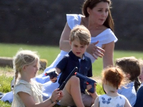 Just like Prince George, my sons play with toy guns – and there's nothing wrong with that