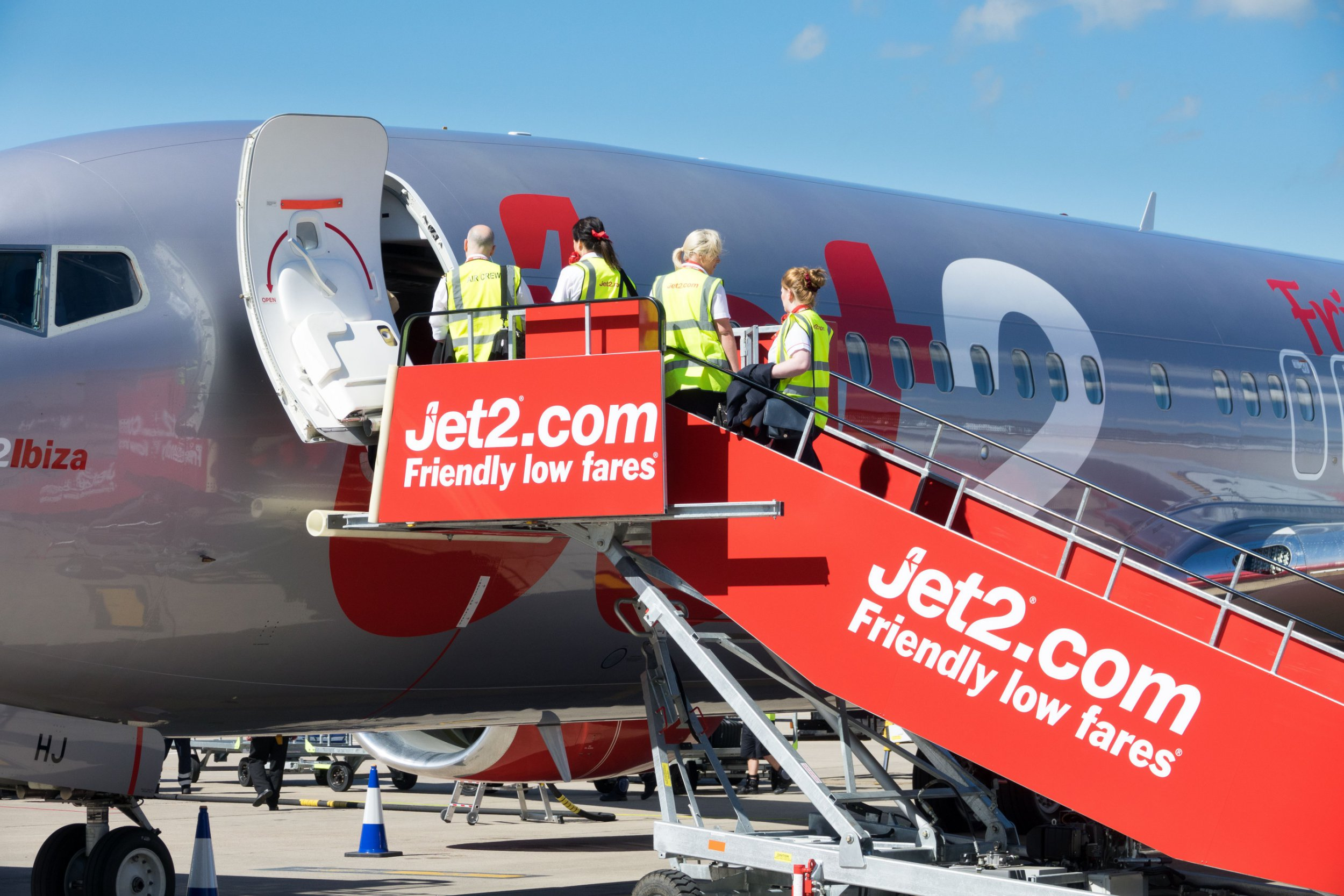 Mandatory Credit: Photo by Geoff Robinson Photography/REX/Shutterstock (8961148o) Jet2 plane Jet2 plane, UK - May 2017 Dart Group which owns Jet2 holidays announced its final year results today. A strong performance by its Jet2 holiday business has led to a major increase in revenues at Dart Group, but investment in new operating bases and foreign exchange revaluation losses led to a drop in profits. Revenue at Dart Group, the holding company for Jet2, has grown by 23 per cent to ?1.73bn in the year to 31 March 2017. Jet2.com flew a total of 7.1 million passengers compared to its 2016 total of 6.07 million, to and from popular sun, city and ski destinations during the year, an increase of 17 per cent. Demand for real package holidays continued to grow as Jet2holidays took 1.73m customers on package holidays, an increase of 42 per cent compared to 2016's total of 1.22m.