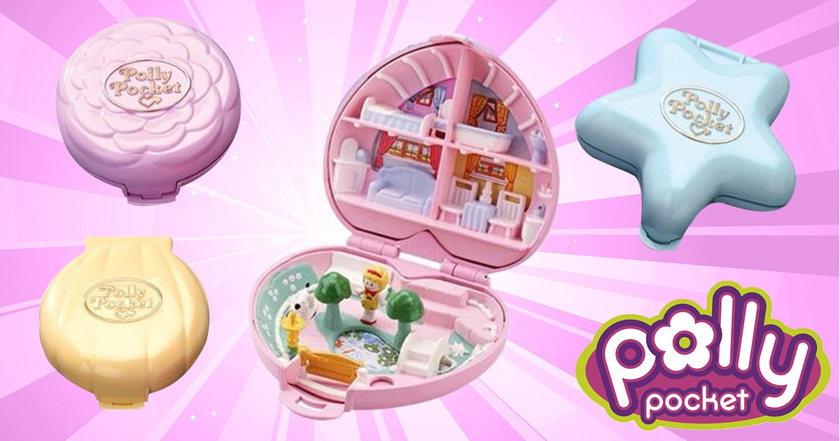 Original 90s Polly Pockets are coming back this summer