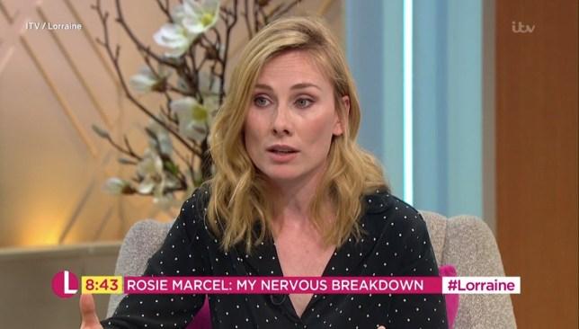Holby's Rosie Marcel on having a breakdown on set