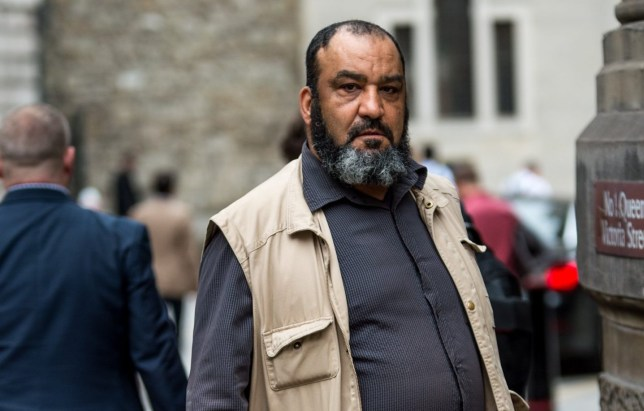 12/06/2018 City of London Magistrates Court (London) Pic shows Omar Mohamad arriving at court. A radical Muslim protestor attacked a police officer with his walking stick during a violent EDL rally spearheaded by Tommy Robinson, a court heard today (tues) Omar Mohamad, 62, attended Speaker?s Corner in Hyde Park, to vent his anger at the far-right group. He was in a crowd of hundreds which were shouting and cheering during a speech delivered by the now imprisoned former English Defence League leader. SEE STORY CENTRAL NEWS. 020 72360116. Picture: Brais G. Rouco/ Central News