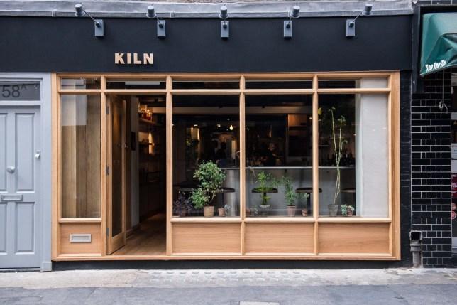 Kiln Restaurant in Soho, London Credit: Kiln