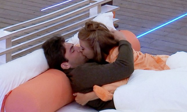 Editorial Use Only. No Merchandising. No Commercial Use. Mandatory Credit: Photo by ITV/REX/Shutterstock (9715013l) Dani Dyer and Jack Fincham continue to get close. They are talking on the day beds about their feelings for each other. 'Love Island' TV Show, Series 4, Episode 10, Majorca, Spain - 13 Jun 2018