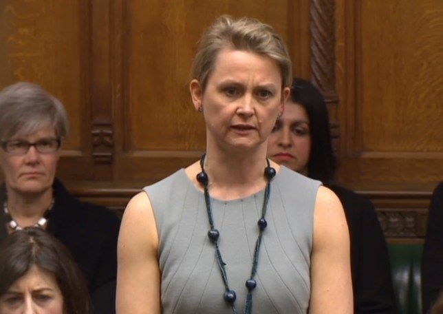 "Labour MP Yvette Cooper responds after Boris Johnson made a statement in the House of Commons, London, where he told MPs that ""all British passport holders remain welcome to travel to the US"" and the US Embassy had given assurances that Donald Trump's executive order would make ""no difference to any British passport holder irrespective of their country of birth or whether they hold another passport""."