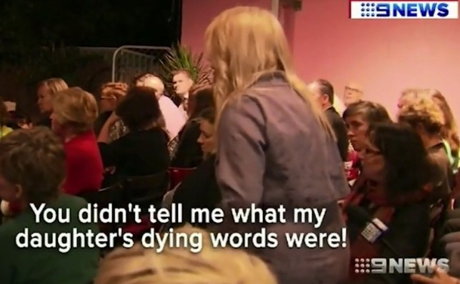 (Picture: Nine News) The mother of a girl who was strangled to death by her boyfriend bravely confronted an author at the launch of his book after he revealed her daughter's last words. Bianca Girven, 22, was throttled to within an inch of her life in an abandoned van at Mt Gravatt on Brisbane's southside in April 2010, dying in hospital the following day. Her killer, Rhys Austin, was found by a court to be of unsound mind and sent to a psychiatric hospital, where he was interviewed by Doctor Donald Grant. Dr Grant has since published a book titled Killer Instinct, detailing some of his worst crimes. In the book, he reveals some of young Bianca's last intimate moments alive. In powerful footage obtained by Nine News, Bianca's mother Sonia Anderson is filmed confronting the psychiatrist-turned-author about his 'disgusting' book.