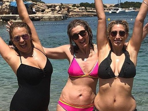 Fans praise Stacey Solomon for sharing unfiltered body positivity bikini picture: 'Every body is beautiful'