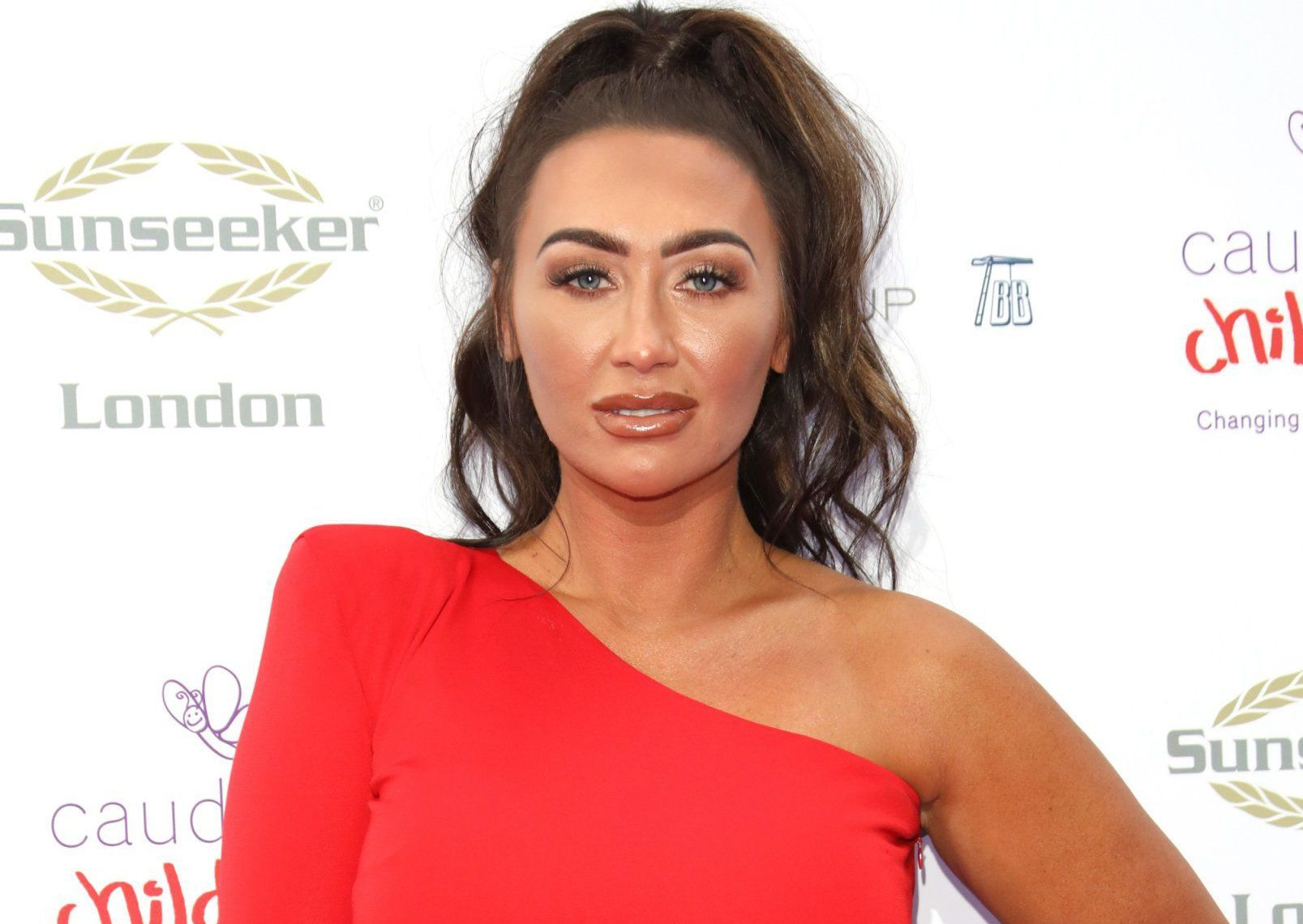 The Caudwell Butterfly Ball 2018 - Arrivals Featuring: Lauren Goodger Where: London, United Kingdom When: 14 Jun 2018 Credit: Lia Toby/WENN.com