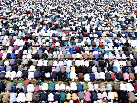 More than 140,000 people gather for Europe's largest Eid celebration