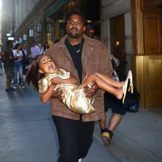 Kanye West loves birthday girl North just not her tantrums