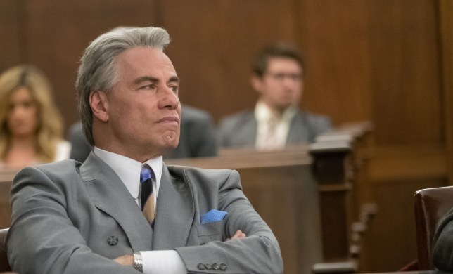 "No Merchandising. Editorial Use Only. No Book Cover Usage Mandatory Credit: Photo by Brian Douglas/Lionsgate/Kobal/REX/Shutterstock (9715963f) John Travolta ""Gotti"" Film - 2018"