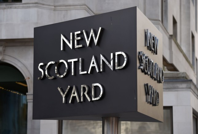 "File photo dated 3/2/2017 of the New Scotland Yard sign. Britain's largest police force has said it is ""doing all it can"" to bring thieves to justice after figures suggested less than 5% of burglaries and robberies across the country are being solved. PRESS ASSOCIATION Photo. Issue date: Sunday June 17, 2018.The Metropolitan Police said it is putting a ""huge amount of effort"" into tackling a rise in moped-related crime, which it said has reduced. See PA story POLICE Crime. Photo credit should read: Kirsty O'Connor/PA Wire"
