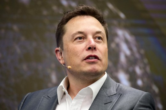 Elon Musk, Chairman of SolarCity and CEO of Tesla Motors, speaks at SolarCity's Inside Energy Summit in Manhattan, New York October 2, 2015. SolarCity on Friday said it had built a solar panel that is the most efficient in the industry at transforming sunlight into electricity. REUTERS/Rashid Umar Abbasi - GF10000230235